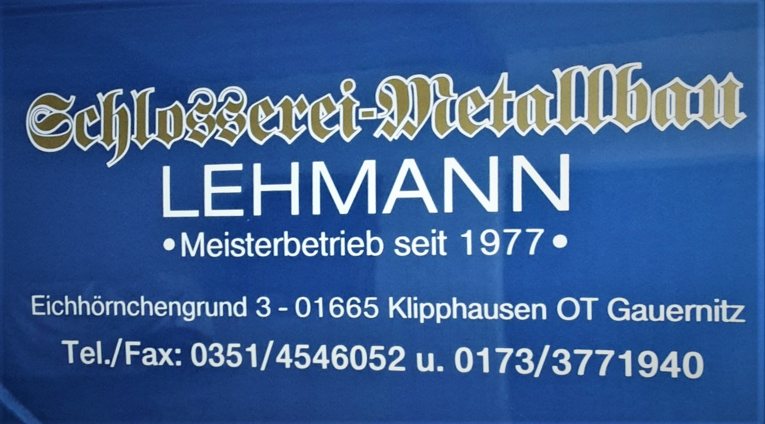 Metallschlosserei Lehmann